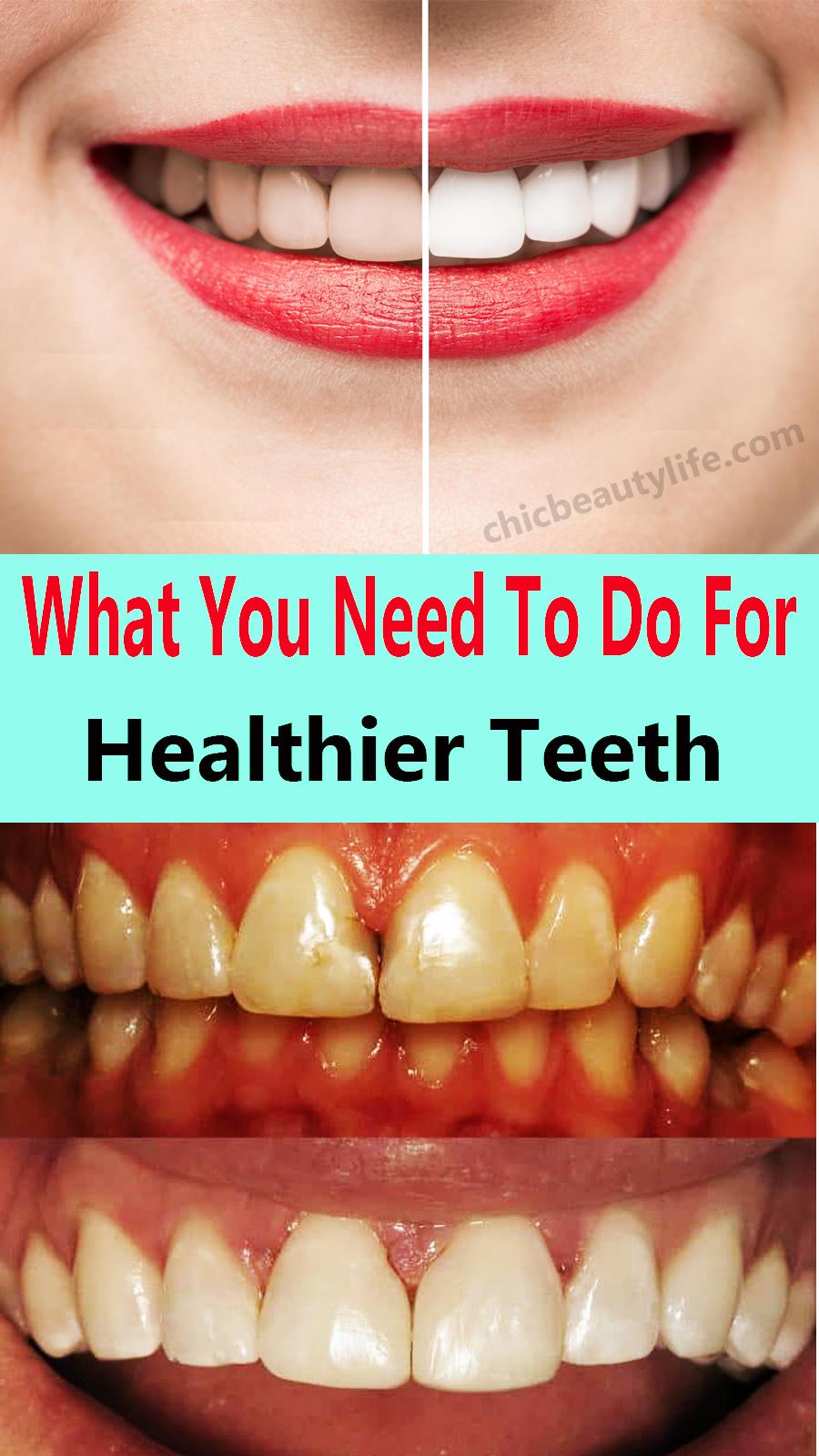 Was Sie für gesündere Zähne tun müssen   – Face mask