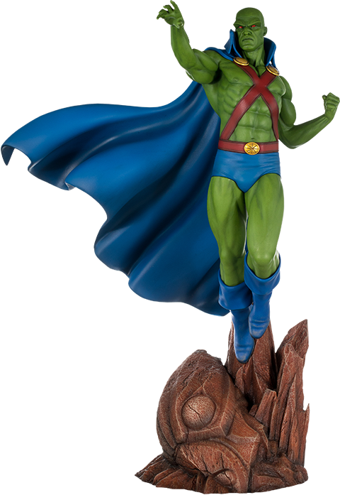 Super Powers Martian Manhunter Maquette From Sideshowcollectibles Click To View Or Purchase Martian Manhunter The Martian Dc Comics