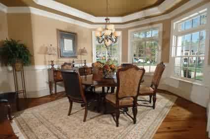 Dining Room / Salle à manger #Interior #Exterior #Floor #Ceiling