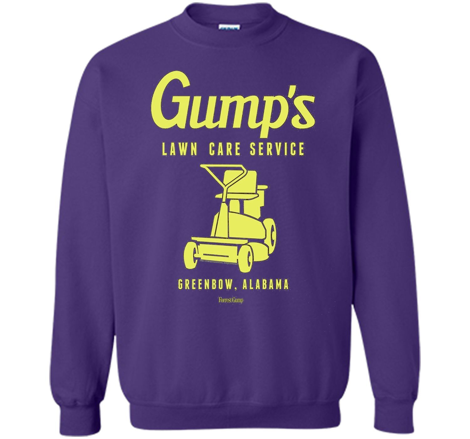 Forrest Gump Lawn Care Service Funny drinking shirts