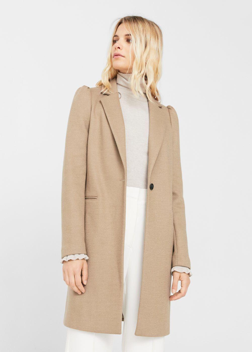 caae9c280777 Manteau manches bouffantes   MANGO   Fashion - jackets   Pinterest