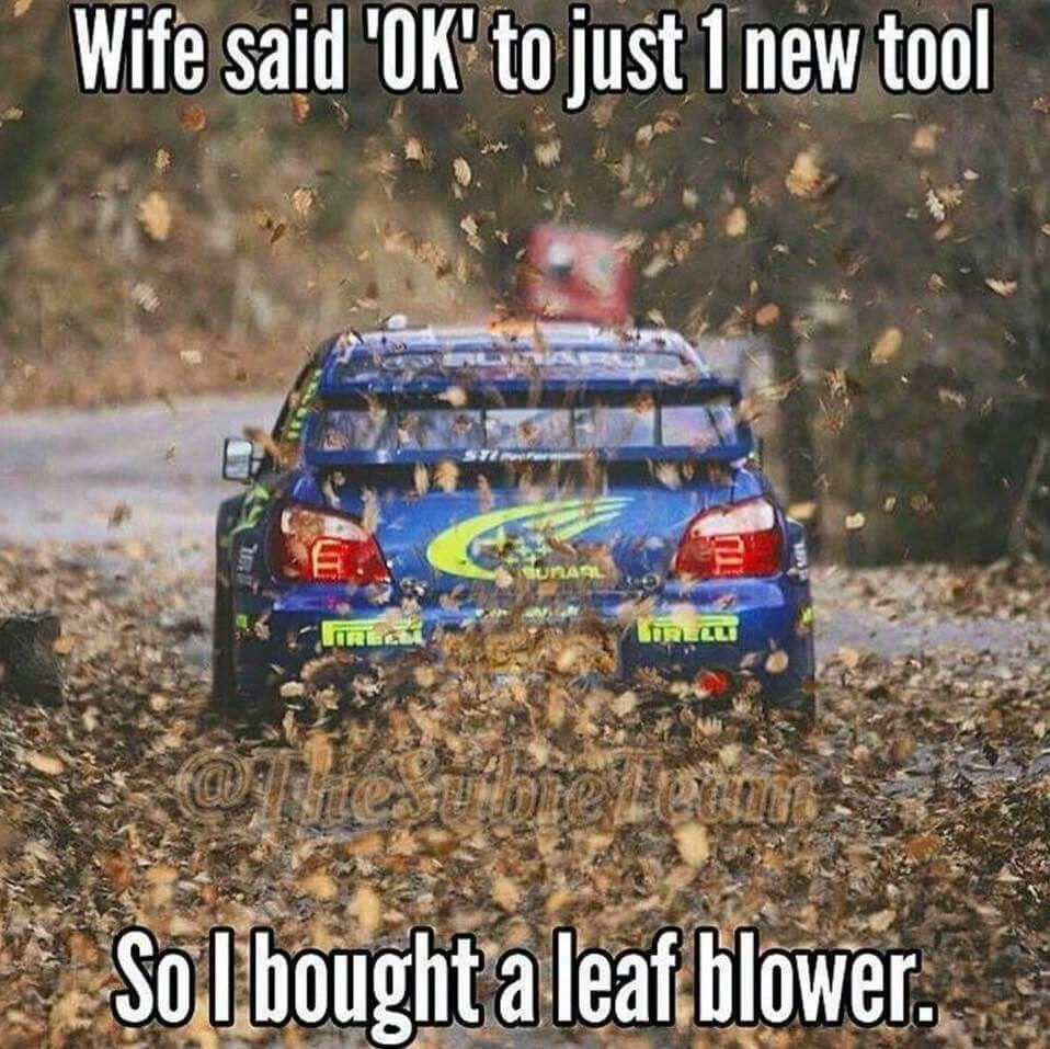 Subaru Impreza / Wife said ok to just 1 new tool, so I bought a leaf blower