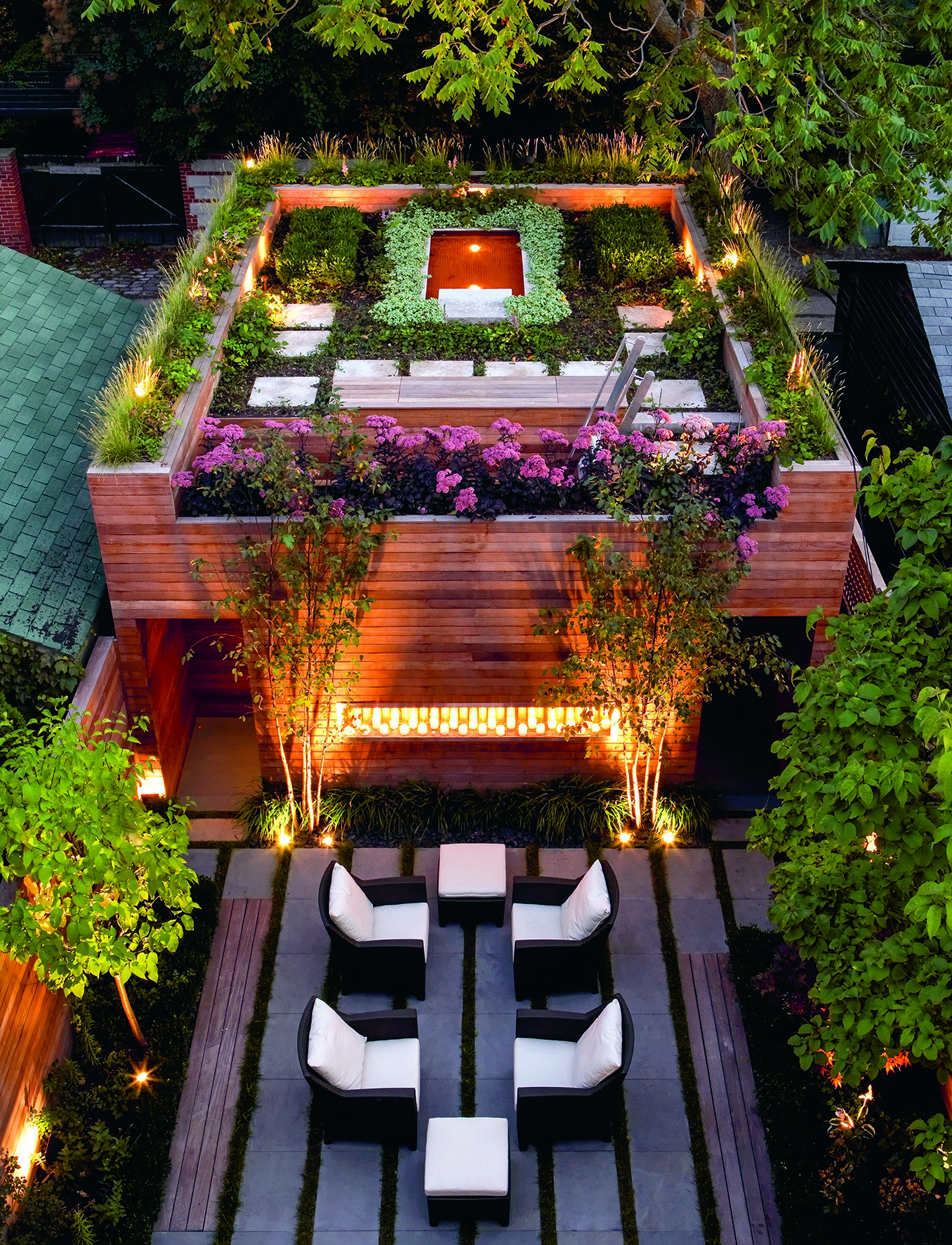 9 Remarkable Rooftop Garden Designs Around The World Roof Garden Design Green Roof Garden Rooftop Design