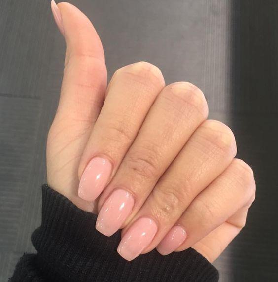 Summer Neutral Nails   Natural nails, Natural and Neutral nails