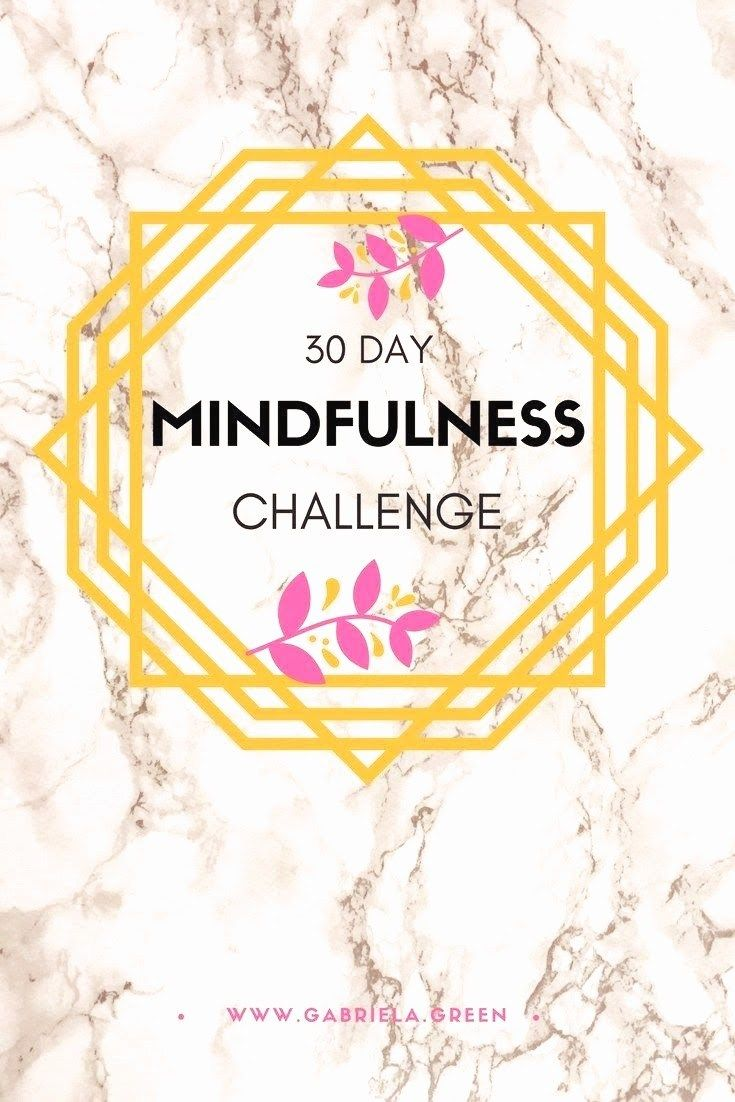 More Mindful 30 Day Mindfulness Challenge (With