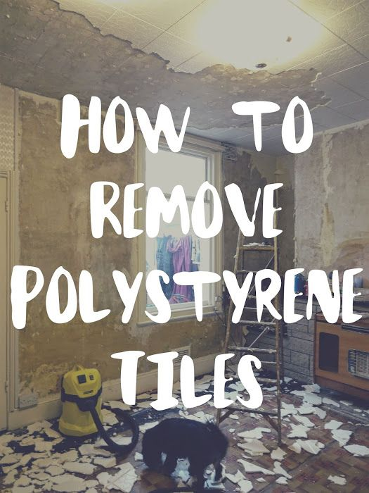 A Quick Guide To Removing Polystyrene Ceiling Tiles Ceiling Tiles Diy Renovation Tiles