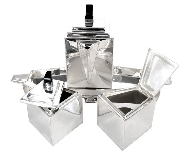 05961-Art-Deco-Style-Silver-Plate-Tea-Coffee-  sc 1 st  Pinterest & 05961-Art-Deco-Style-Silver-Plate-Tea-Coffee-Set-on-Tray-6-2.jpg ...