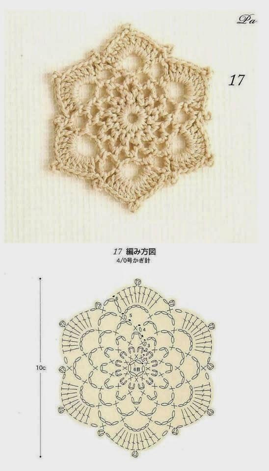 Crochet Mundial: Motivos Crocheted | Costura/Crochet | Pinterest ...