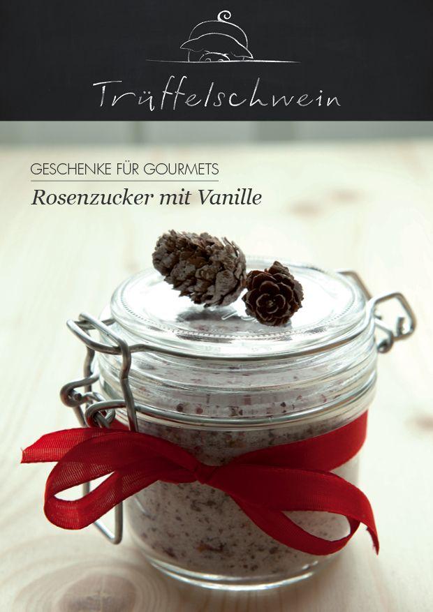 rosenzucker mit vanille geschenk weihnachten schenklis selbst gemacht pinterest zucker. Black Bedroom Furniture Sets. Home Design Ideas