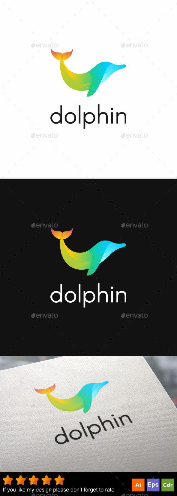 Dolphin | Pinterest | Coreldraw, Ai illustrator and Logo templates