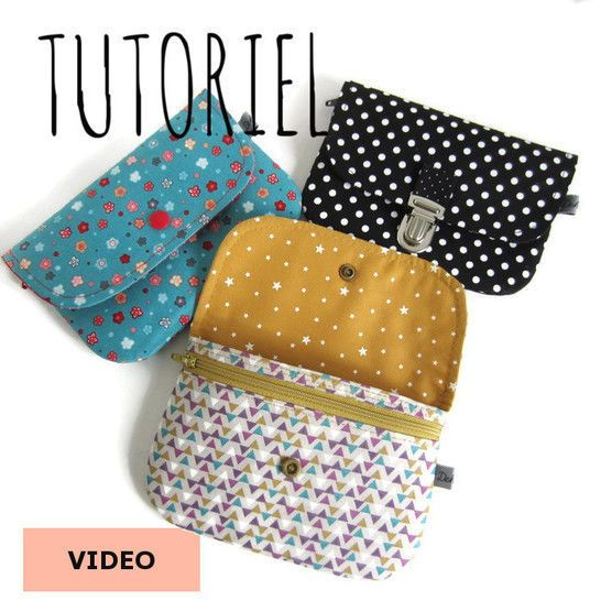 Photo of Achille coin purse tutorial