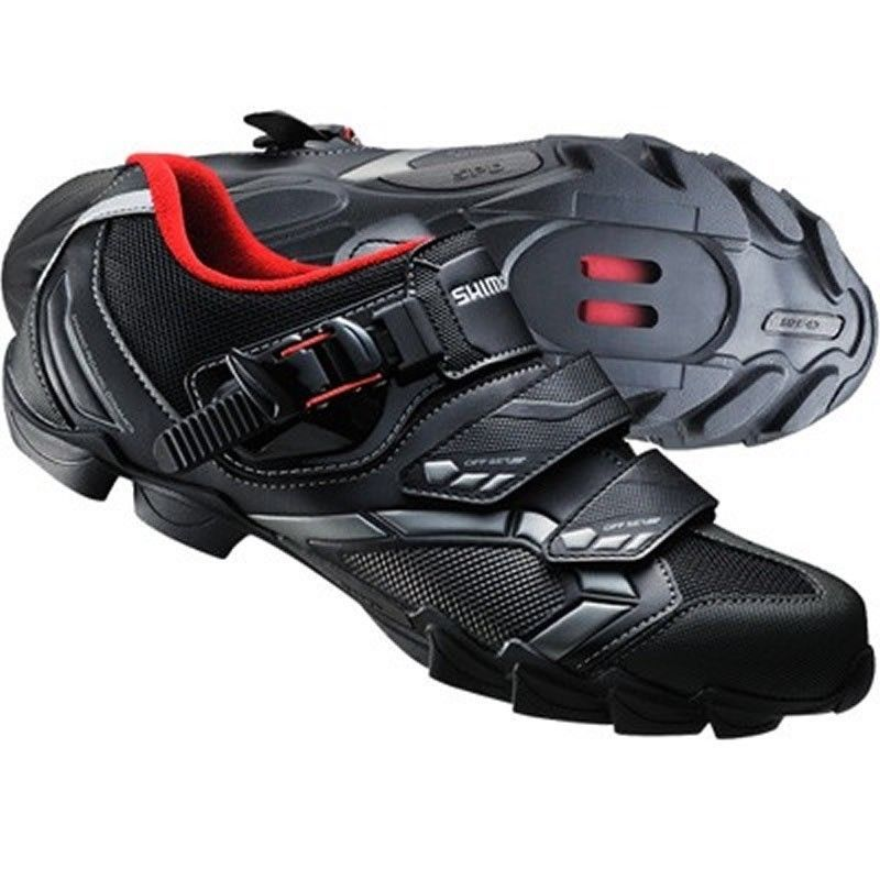 Black Shimano Sh M089 Upgraded Sh M088 Cycling Shoes Mtb Mountain