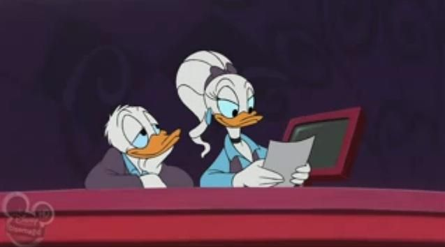 Donald And Daisy In House Of Mouse Houseofmouse Donald Duck