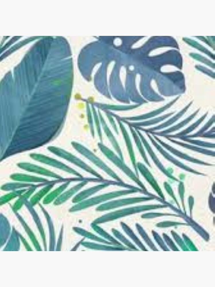 classic leaf print Coasters (Set of 4)