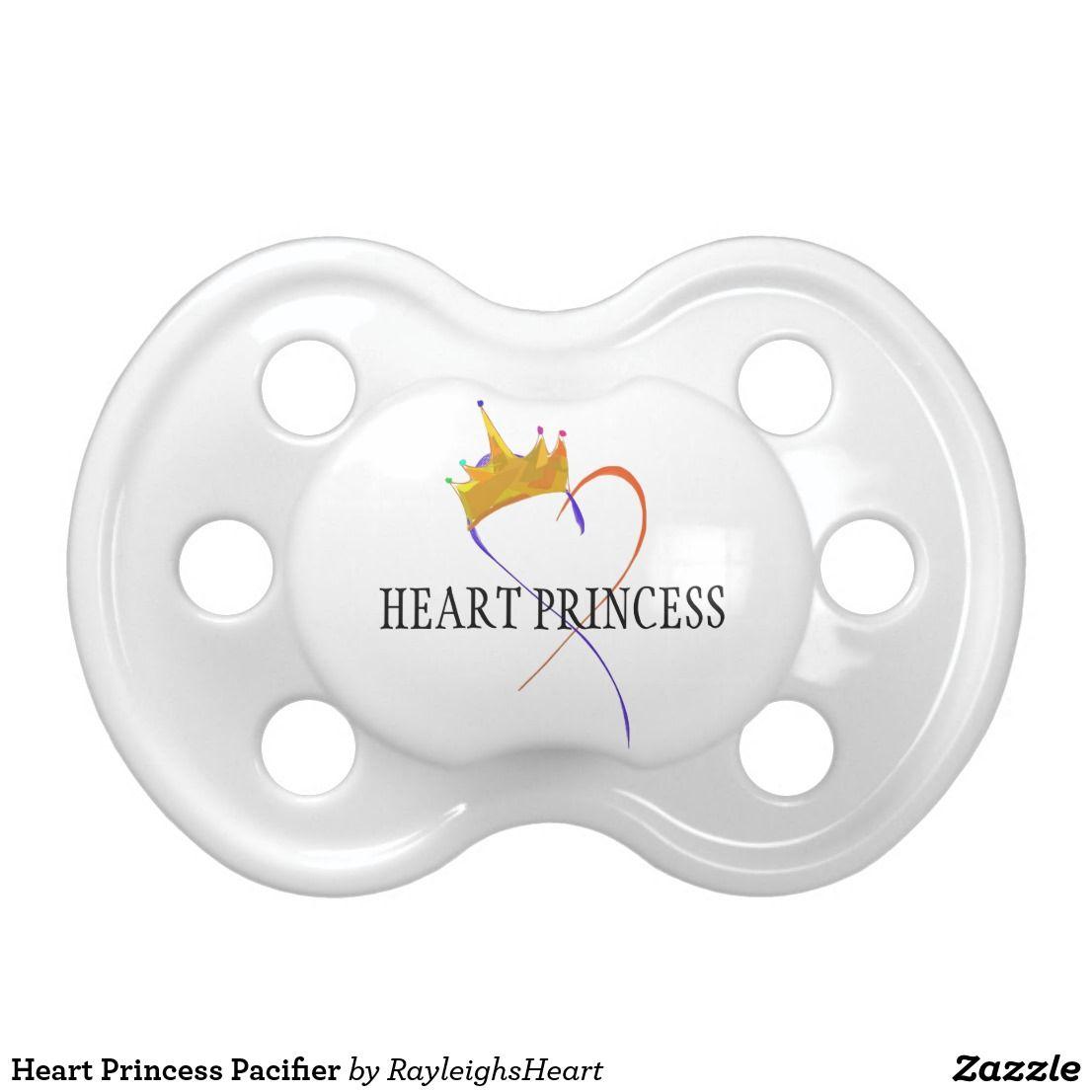 Heart Princess Pacifier