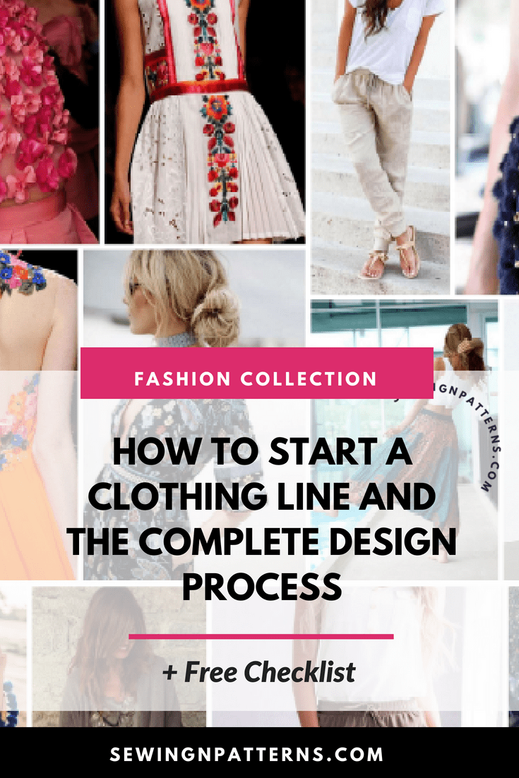 Wondering How To Start A Clothing Line Let Me Teach You How To Make A Clothes Line For Free Click Here For The Tutorial Free Downlo Dress Design Drawing Fashion