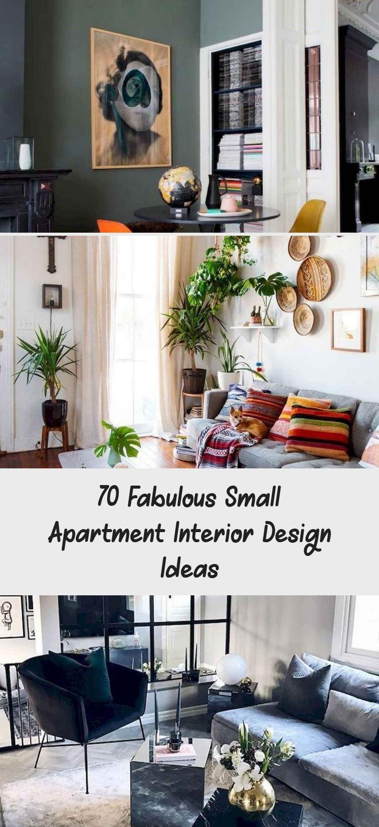 70 Fabulous Small Apartment Interior Design Ideas Home Decor Fabulous Sma Interior Design Apartment Small Small Apartment Interior Apartment Interior Design