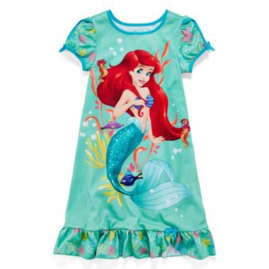818f929bd6c91 Disney Collection Ariel Nightshirt – Girls 2-10 found at @JCPenney ...