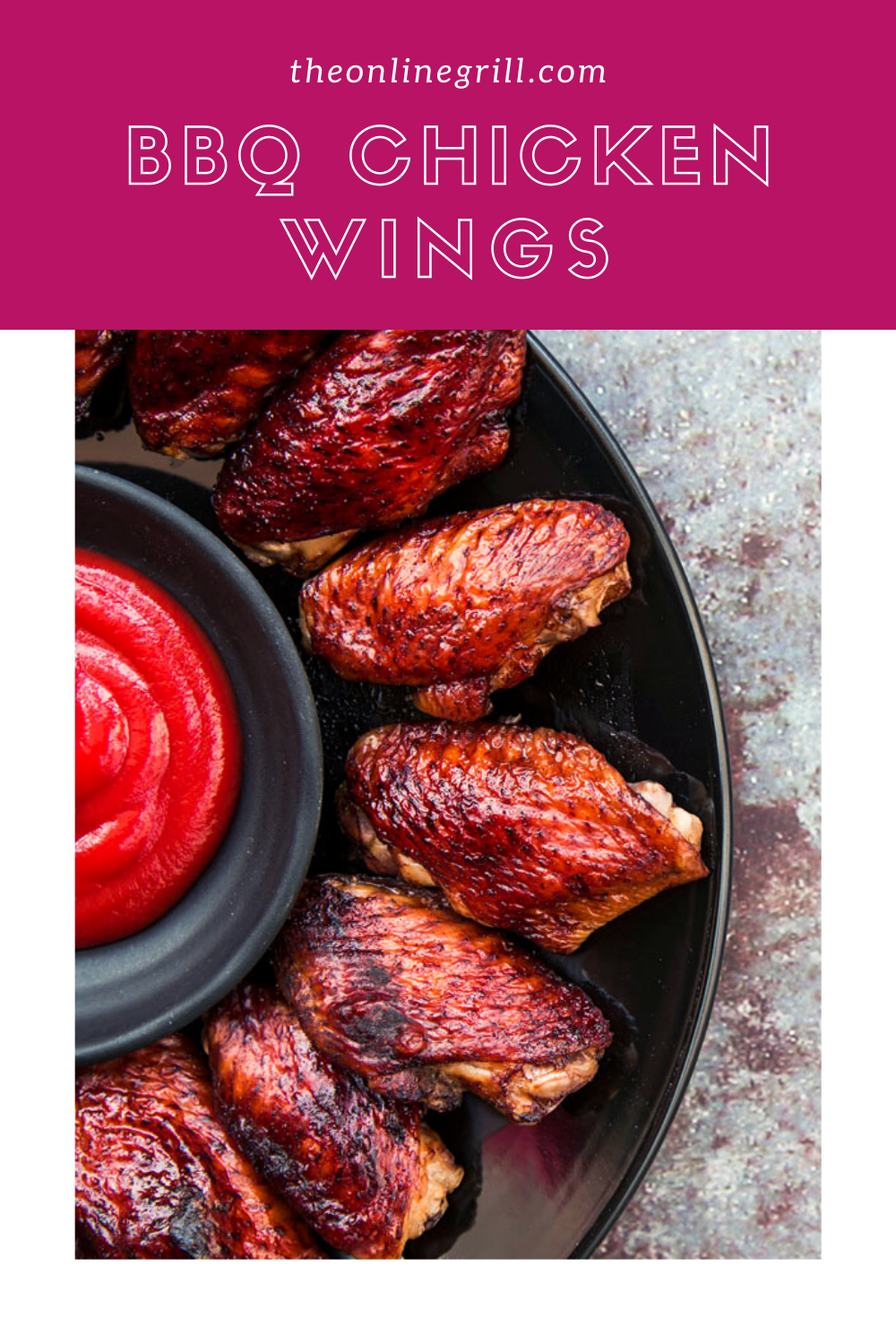 Easy Bbq Chicken Wings Recipe Theonlinegrill Com Recipe Bbq Chicken Wings Recipe Bbq Chicken Wings Wing Recipes