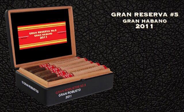 Gran Habano Gran Reserva #5 2011 out now!