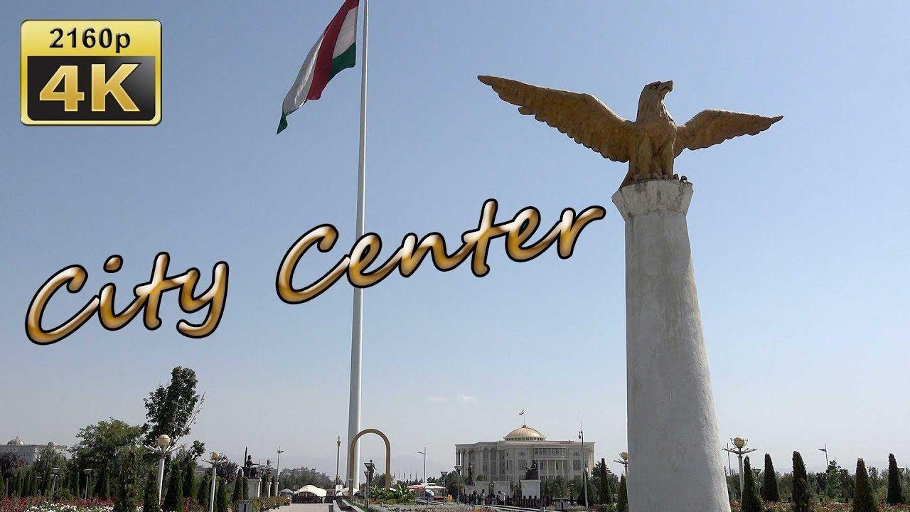Dushanbe City Walk Tajikistan 4k Travel Channel Dushanbe Travel Channel City