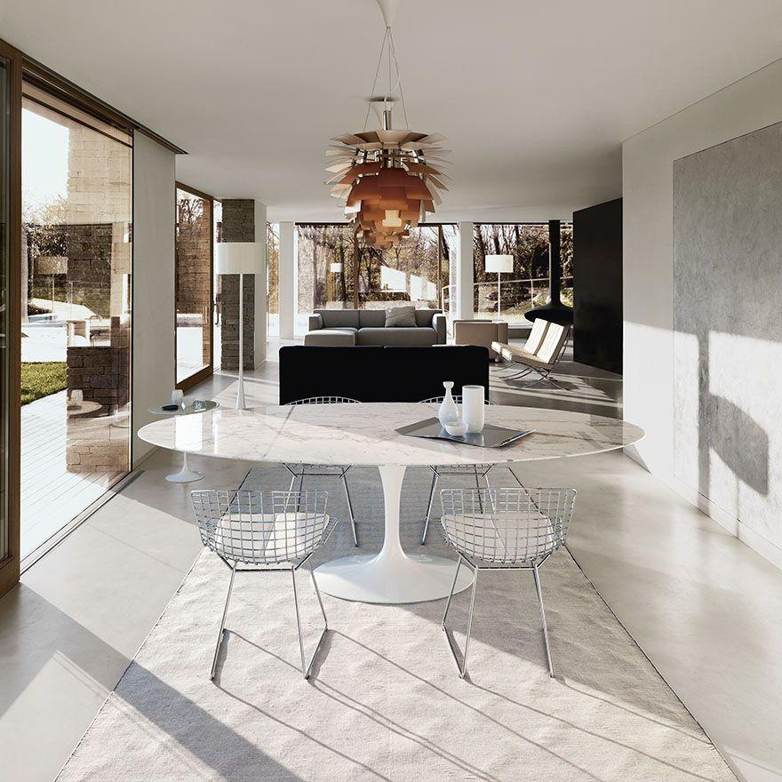 Saarinen Dining Table Oval The Luxury Of Dinning In - Saarinen oval dining table 78