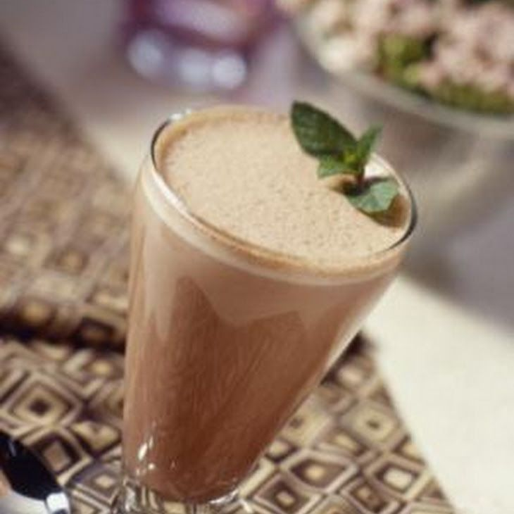 Satisfying Breakfast Shake Recipe Beverages, Breakfast and Brunch with coffee, protein powder, coconut milk, flax seed meal, sweetener, ice cubes