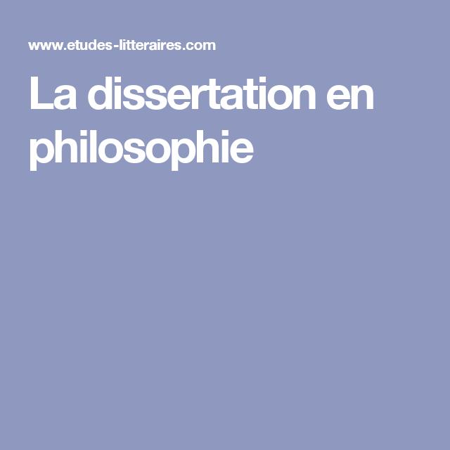 La Dissertation En Philosophie Cours Methodologie De Philosophique Pdf