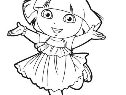 19 Dessins De Coloriage Dora Jeux A Imprimer Coloriage Dora Coloriage Jeux Coloriage