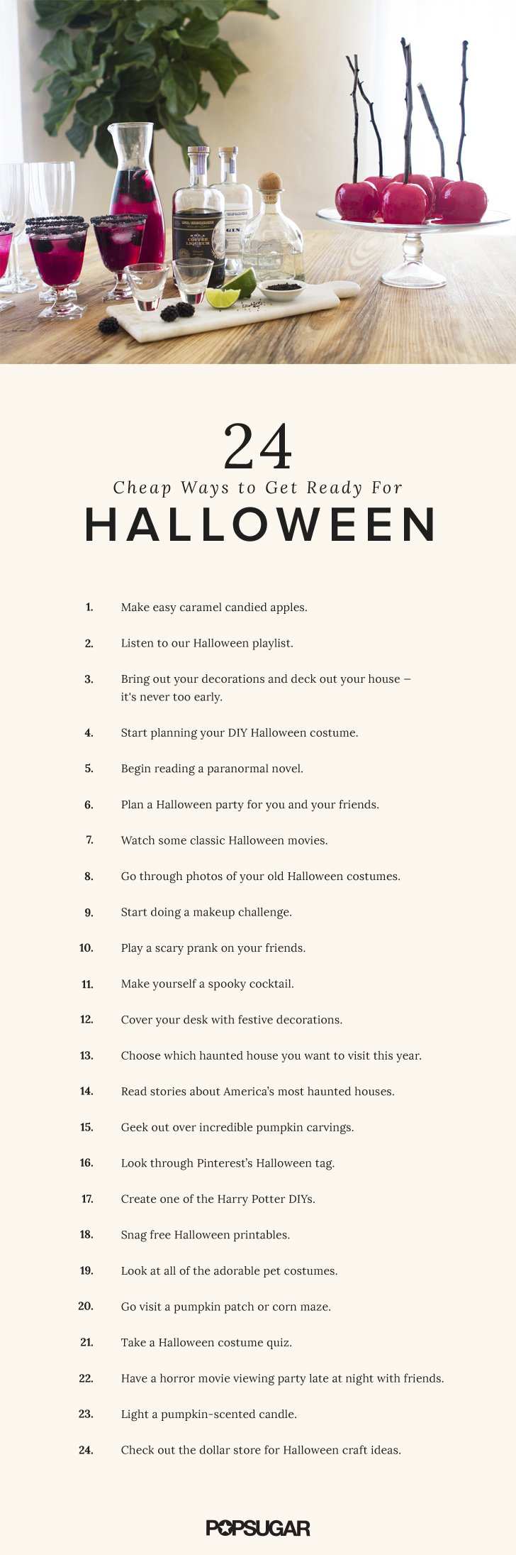 23 Cheap Ways to Get Excited For Halloween Cheap