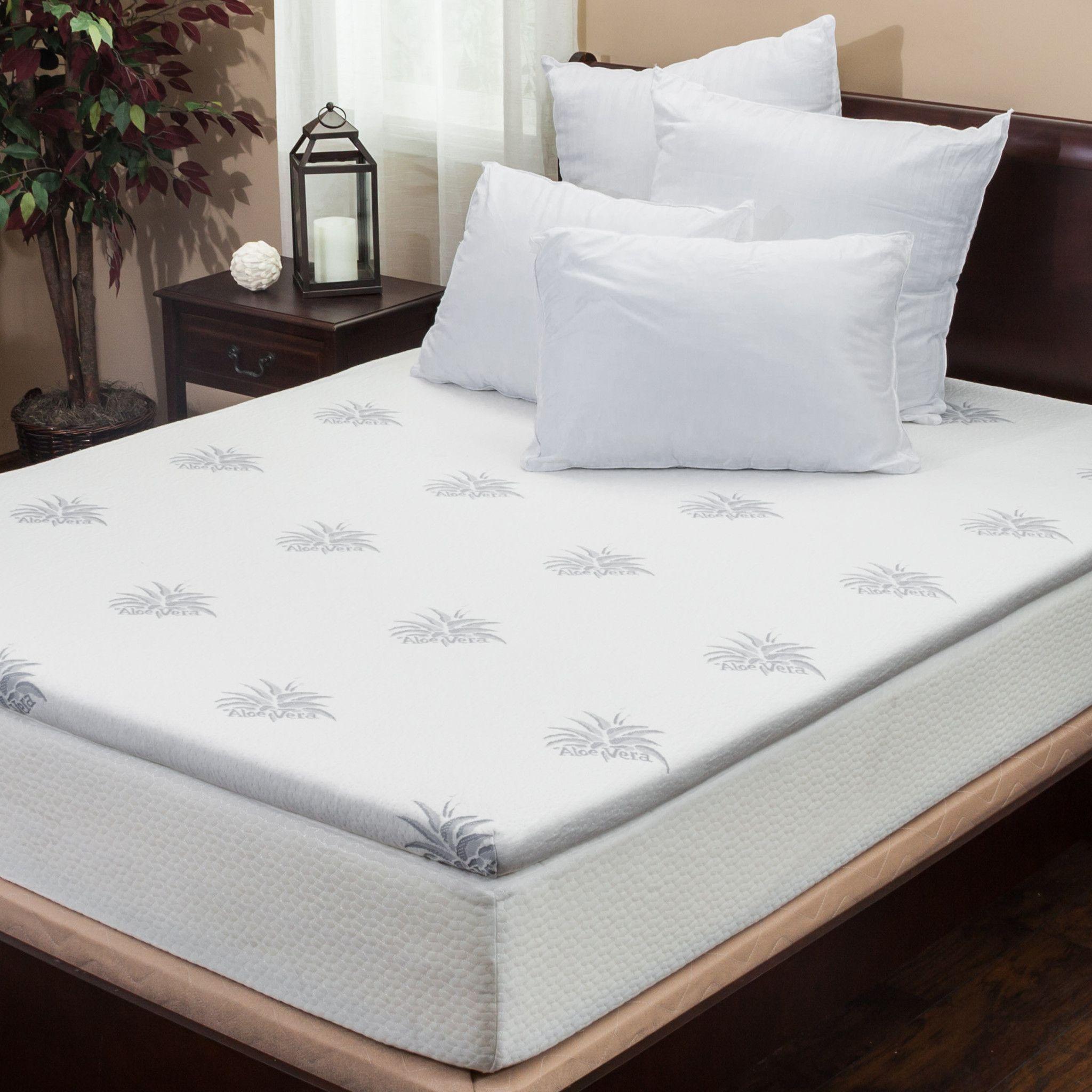 mattress topper sleep memory amazon suretemp fiber dp com inch foam warranty year innovations