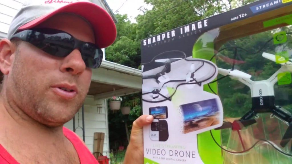 Sharper Image Platinum Series Streaming Drone Full Review R C Cray Z