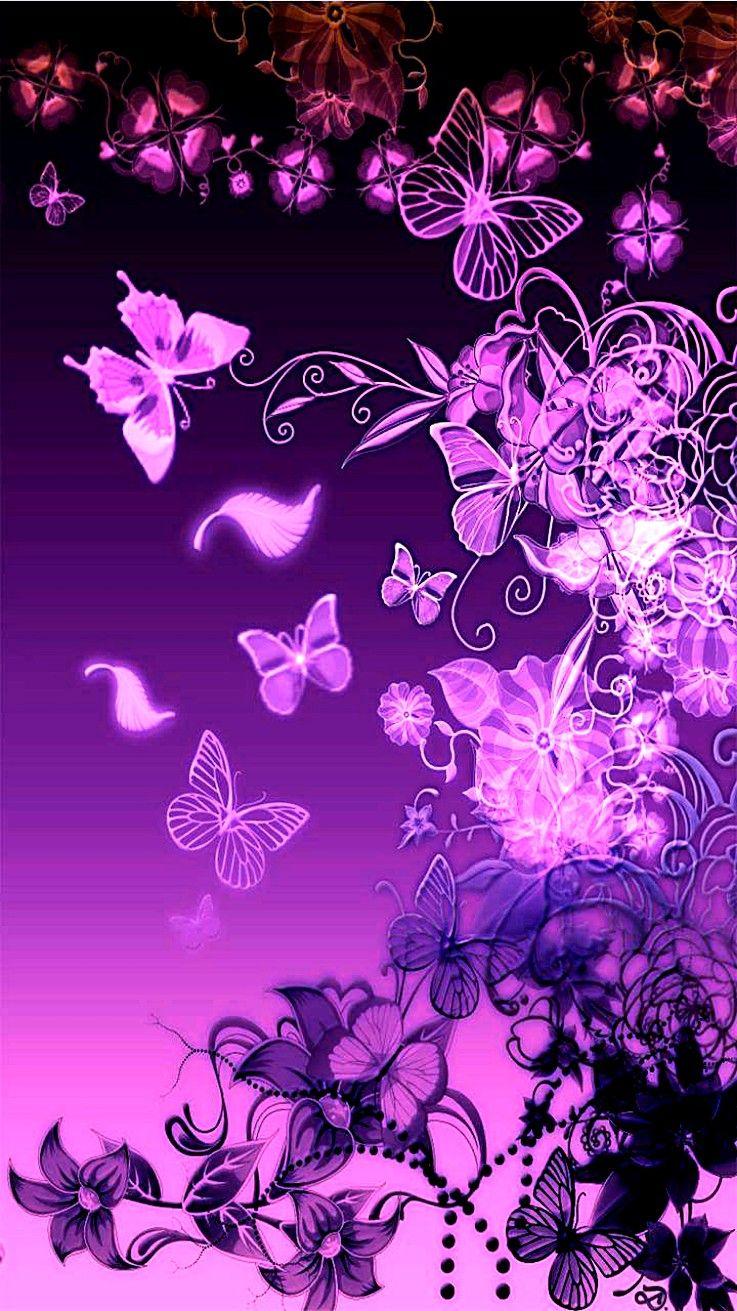 Idea By Nancy Mcknight On Minni Mouse Butterfly Background