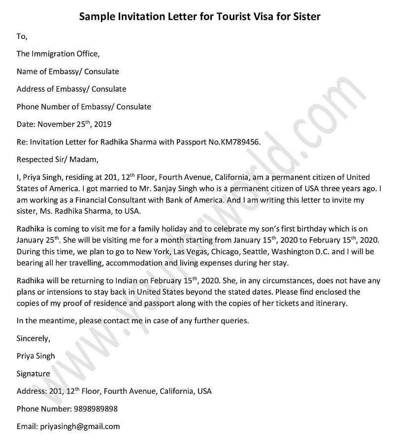 Sample Letter For Sponsoring Visitor Visa Uk. Feels free