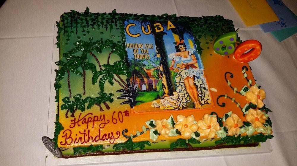 Astonishing Freeds Bakery Las Vegas Nv United States Cuban Cake Theme Personalised Birthday Cards Xaembasilily Jamesorg