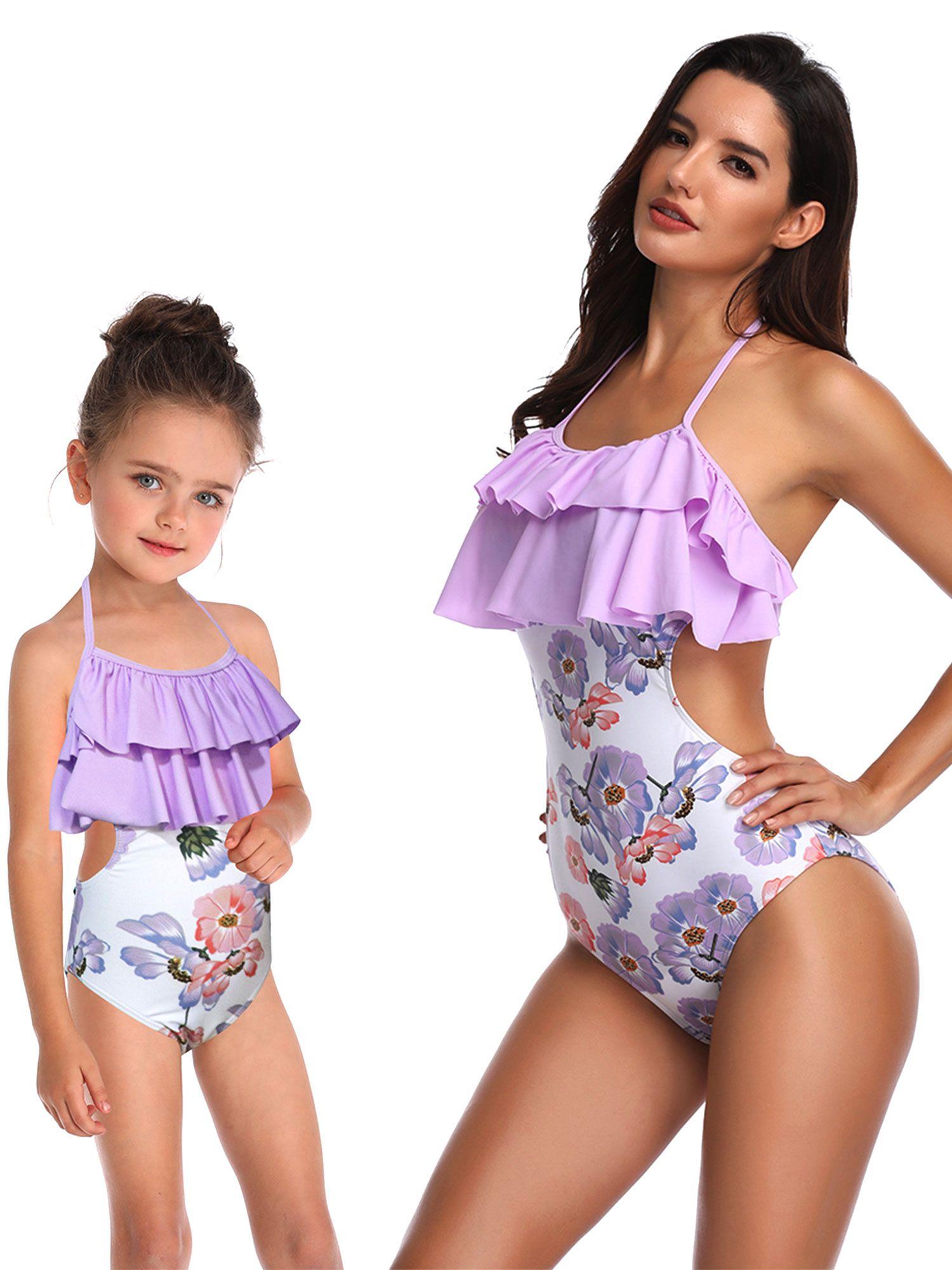 Muslimische Bikini Bademode Für Frauen Und Mädchen Schwimmanzug Swimwear Beach