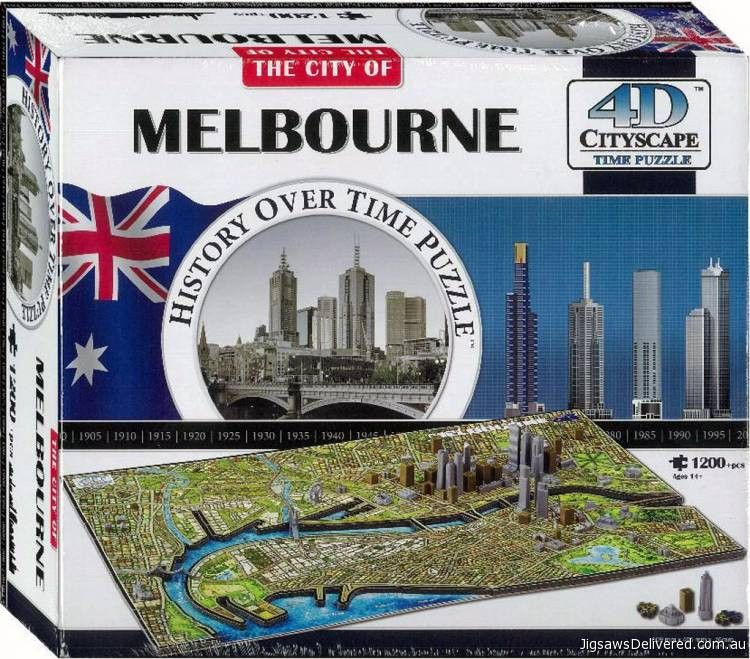 Tokyo City Map With Time Layer 4D Cityscape Jigsaw Puzzle