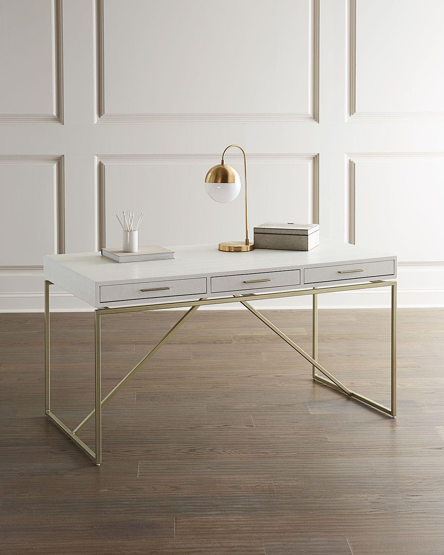 Interlude Home Emmet Faux Snakeskin Writing Desk Zen Furniture Home Furnishings Desk Prices [ 1500 x 1200 Pixel ]