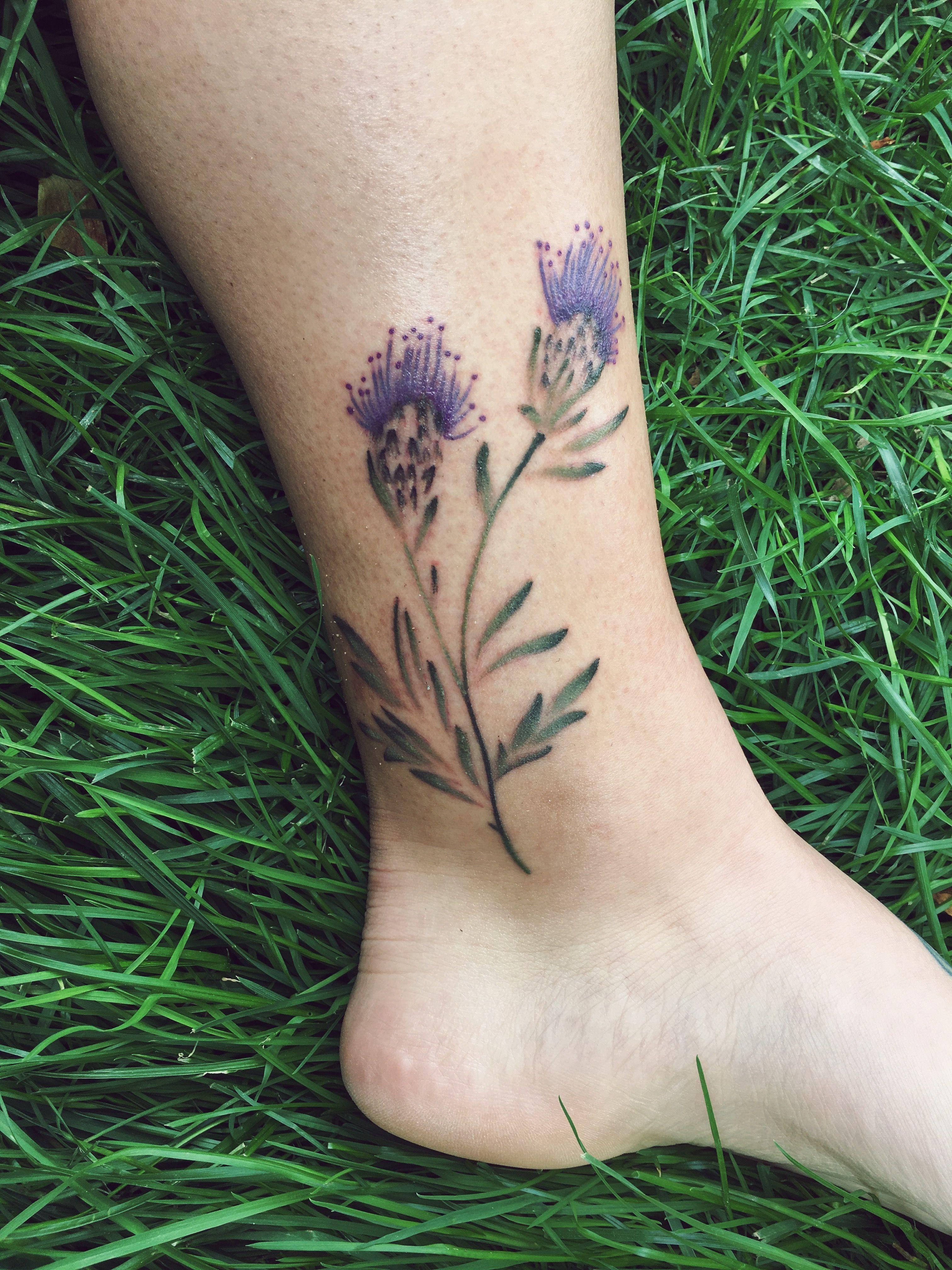 scottish thistles tattoos pinterest scottish thistle tattoo and thistle tattoo. Black Bedroom Furniture Sets. Home Design Ideas