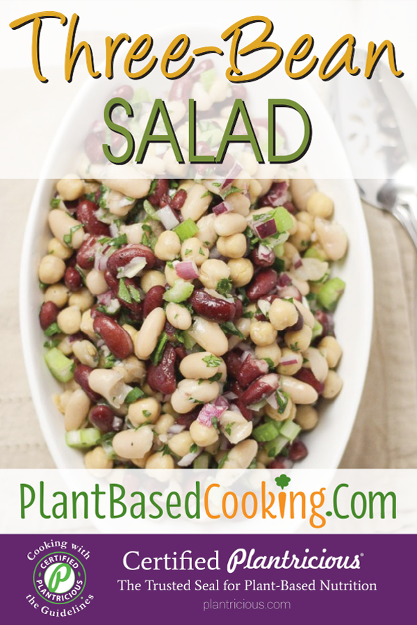 Three Bean Salad Recipe In 2020 Bean Salad Three Bean Salad Beans
