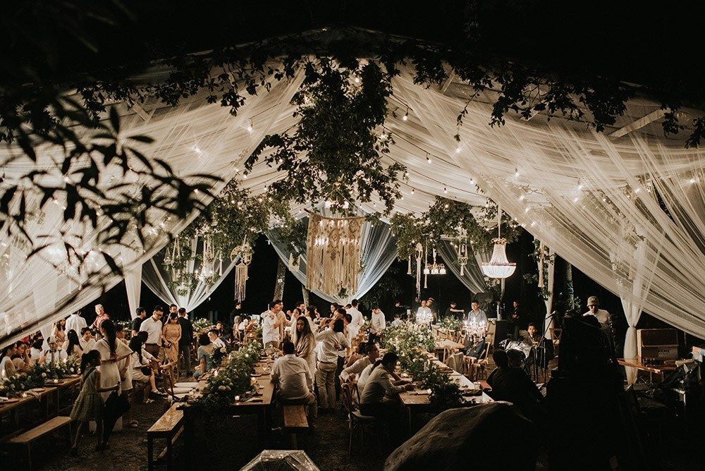 A Twilightinspired Forest Wedding in Java, Indonesia