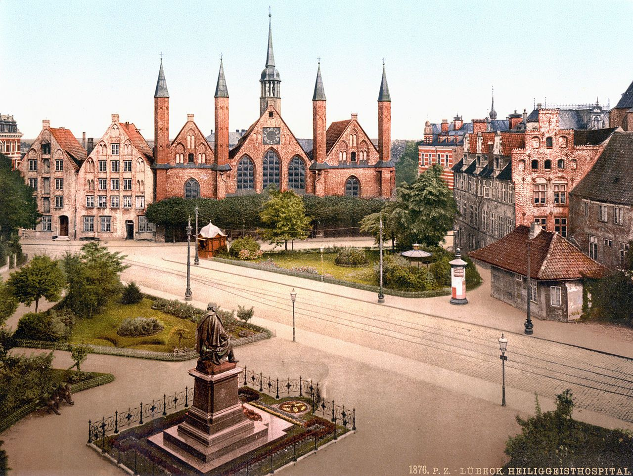 Luebeck Heiliggeisthospital 1900