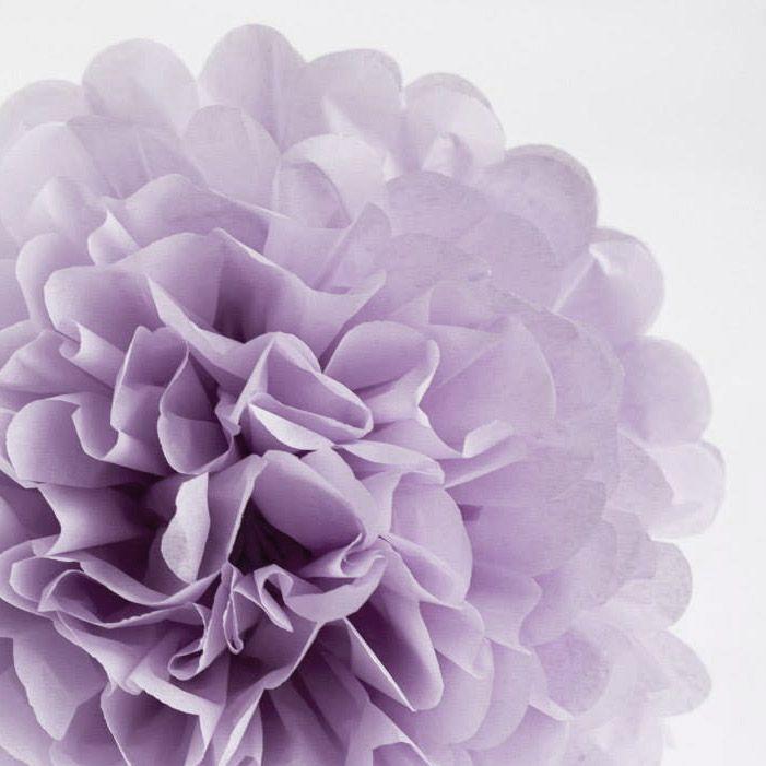Pom pom, vaaleanvioletti - Hää- ja juhlaputiikki Ribbon & Ink