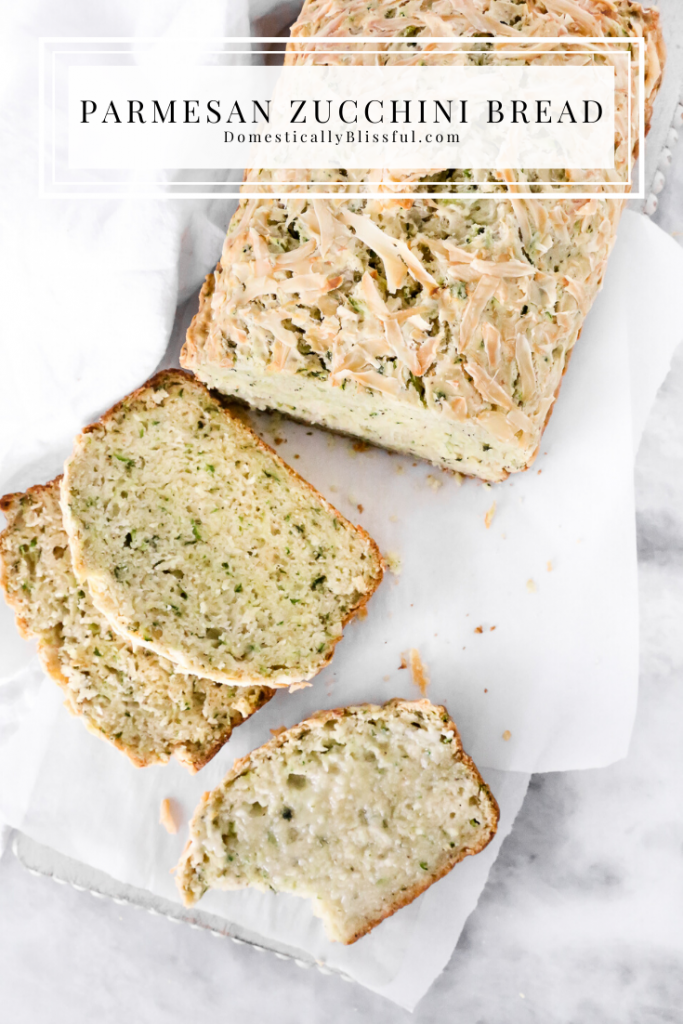 parmesan zucchini bread  recipe in 2020  recipes