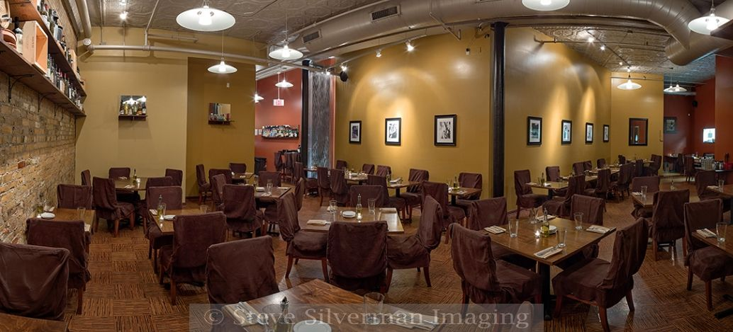 Butcher Block Restaurant Neatly And Creatively Tucked Into A Northeast Minneapolis Building Architectural Photography 110 Degree Panoramic 4 Images