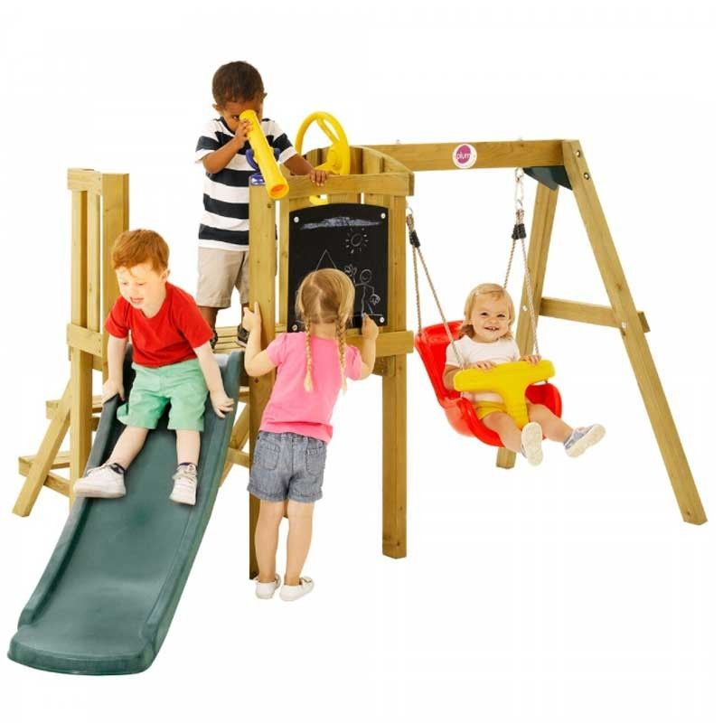 Plum Toddlers Tower Wooden Play Centre Garden Play Centre Toys