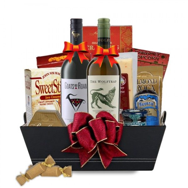 Sumptuous South African Wine Gift Basket Spiritedgifts