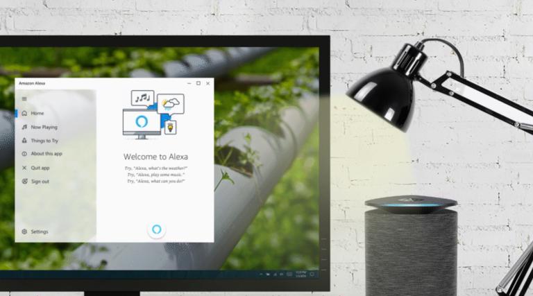 Alexa for Windows 10 PCs goes handsfree Alexa app