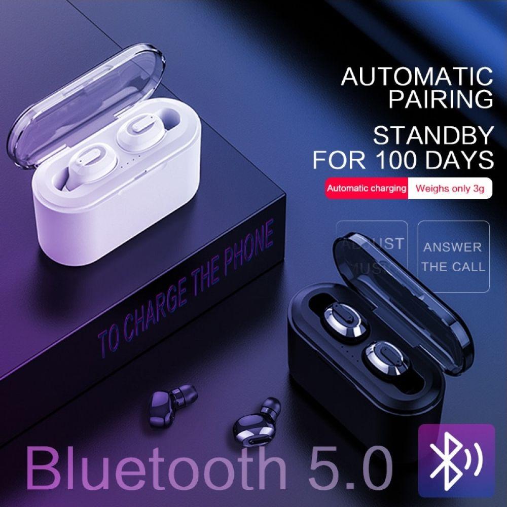 Ksun Bt 01 Tws 5 0 Bluetooth Earphone 3d Stereo Wireless Earphone With Dual Microphone Price Bluetooth Earphones Bluetooth Earbuds Wireless Wireless Earphones