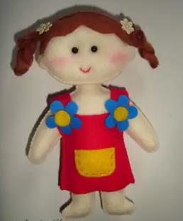 Cara Membuat Boneka Lucu Dari Kain Flanel Dengan Mudah Diy Kain